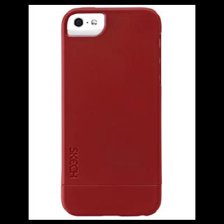 תמונה של Hard Rubber אדום ל iPhone 5/5s