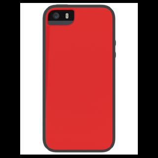 תמונה של Glow אדום/אפור ל iPhone 5/5s