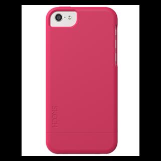 תמונה של Hard Rubber ורוד ל iPhone 5c