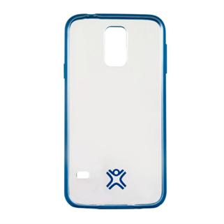 תמונה של כיסוי שקוף כחול ל Galaxy S5