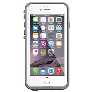 תמונה של כיסוי נגד מים לבן/אפור ל iPhone 6