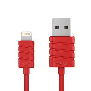 כבל טעינה וסנכרון אדום ל iPhone 6,6 Plus