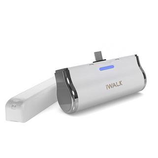 תמונה של סוללה נטענת לבן ל Micro USB