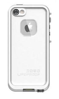 תמונה של כיסוי נגד מים לבן/אפור ל iPhone 5/5s