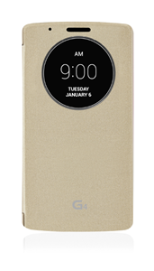 כיסוי חכם ל LG G4 זהב