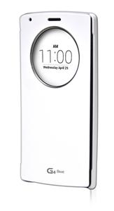 כיסוי חכם ל LG G4 Beat לבן