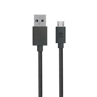 תמונה של כבל Micro USB דגם Premium כסף 2.5 מ'