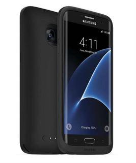 תמונה של כיסוי סוללה שחור ל Galaxy S7 Edge