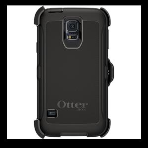Defender שחור ל Galaxy S5