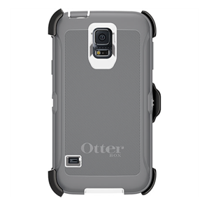 Defender אפור/לבן ל Galaxy S5