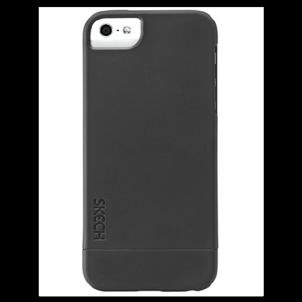 Hard Rubber שחור ל iPhone 5/5s