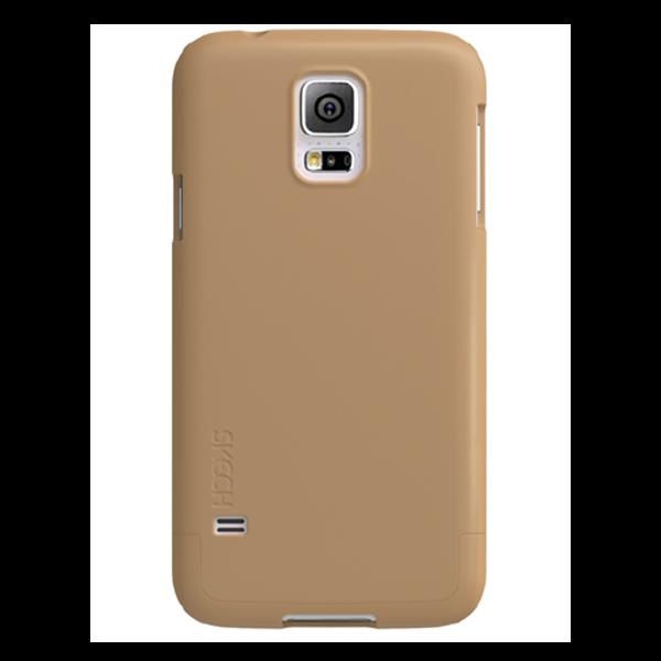 Hard Rubber זהב ל Galaxy S5