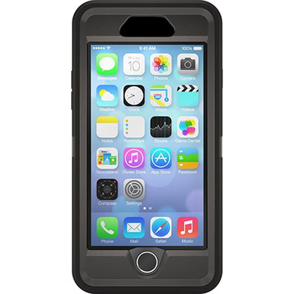 Defender שחור ל iPhone 6