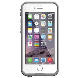 כיסוי נגד מים לבן/אפור ל iPhone 6