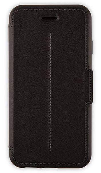 כיסוי ספר עור שחור ל iPhone 6