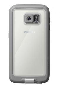 כיסוי נגד מים לבן/אפור ל Galaxy S6