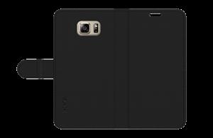 כיסוי ספר עור שחור ל Galaxy Note 5