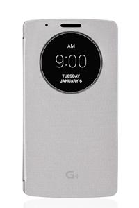 כיסוי חכם ל LG G4 כסף