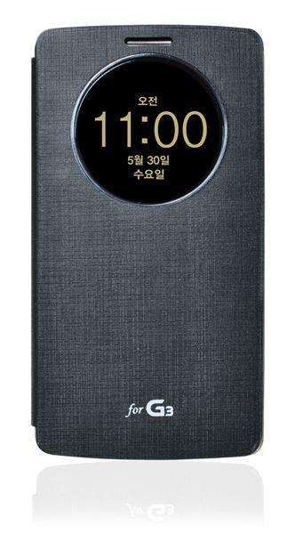 כיסוי חכם ל LG G3 שחור