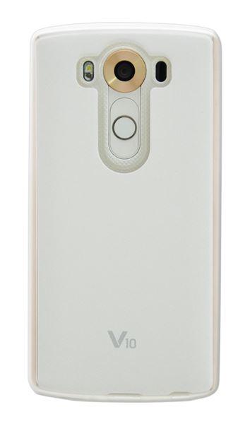 כיסוי Jellskin ל LG V10  לבן