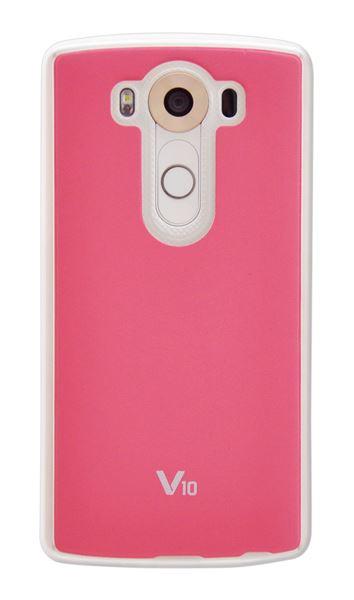 כיסוי Jellskin ל LG V10  ורוד