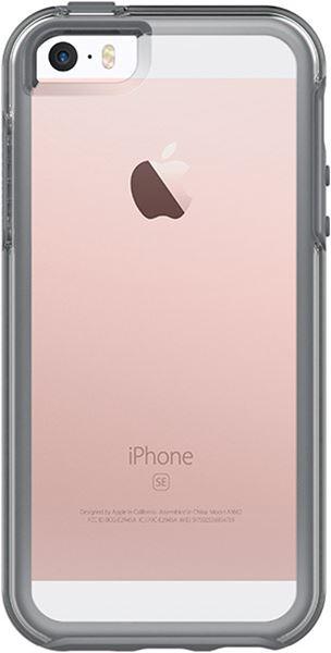 Symmetry Clear אפור ל iPhone SE
