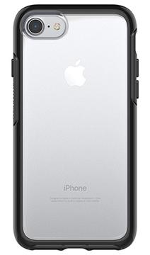 Symmetry שקוף/ שחור ל 8/iPhone 7