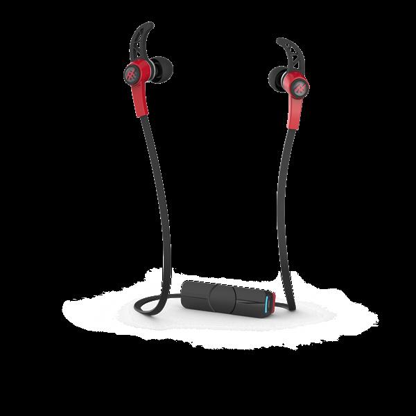 אוזניות Bluetooth ספורט דגם Summit אדום