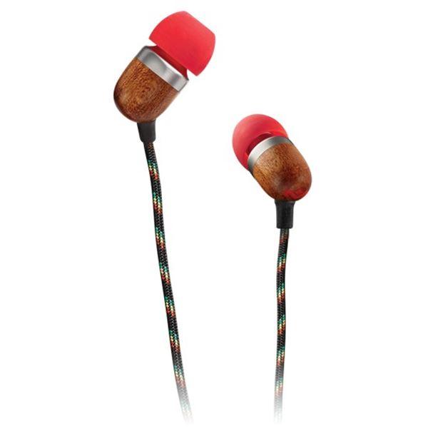 אוזניות SMILE JAMAICA IN EAR שחור/אדום