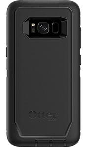 Defender שחור ל Galaxy S8