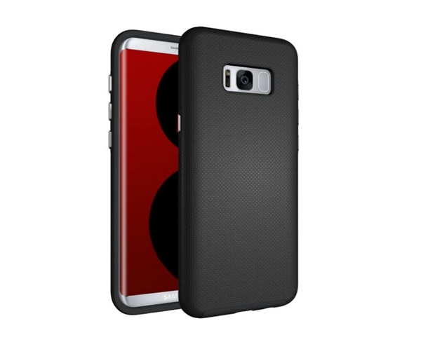 Active Shield שחור ל Galaxy S8 Plus