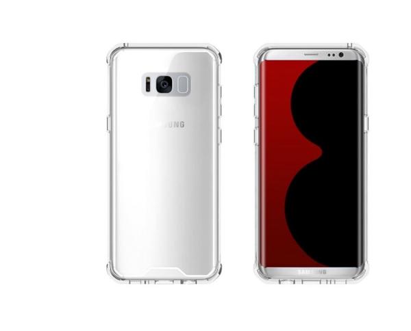 כיסוי שקוף ל Galaxy S8