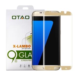 מגן מסך זכוכית 3D זהב ל Galaxy S7 Edge