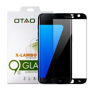 מגן מסך זכוכית 3D שחור ל Galaxy S7