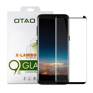 מגן מסך זכוכית 3D שחור ל Galaxy S8