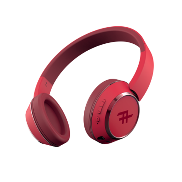 אוזניות Bluetooth דגם Coda Wireless אדום