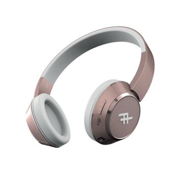 אוזניות Bluetooth דגם Coda Wireless ורוד