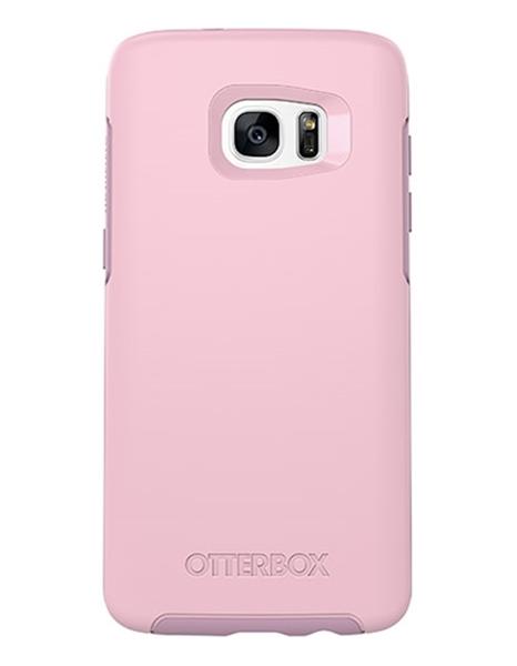 Symmetry ורוד ל Galaxy S7 Edge