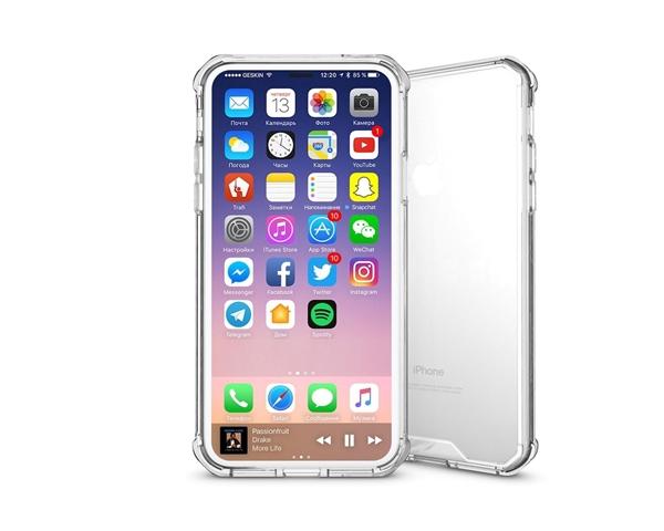 כיסוי שקוף ל iPhone X