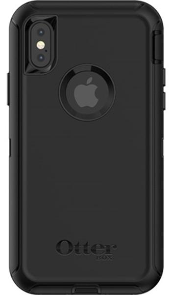 Defender שחור ל iPhone X