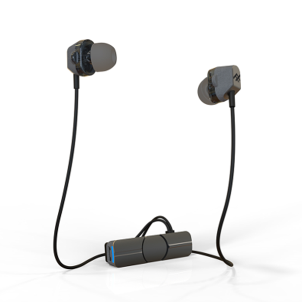 אזניות Bluetooth דגם impulse Duo Wireless שחור