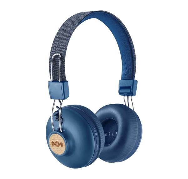 אוזניות 2  POSITIVE VIBRATION  WIRELESS כחול