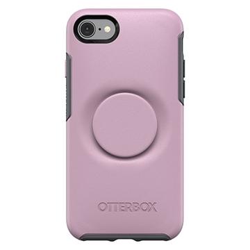 כיסוי  לiPhone 7/8 מבית Otterbox & PopSocket דגם Symmetry ורוד