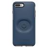 כיסוי  ל iPhone 7/8 Plus מבית Otterbox & PopSocket דגם Symmetry כחול
