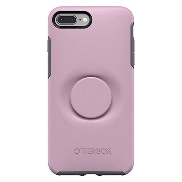 כיסוי  ל iPhone 7/8 Plus מבית Otterbox & PopSocket דגם Symmetry ורוד