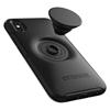כיסוי  ל iPhone  X/XS מבית Otterbox & PopSocket דגם Symmetry שחור