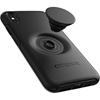 כיסוי  ל iPhone XS Max מבית Otterbox & PopSocket דגם Symmetry שחור