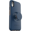 כיסוי  ל iPhone XR מבית Otterbox & PopSocket דגם Symmetry כחול