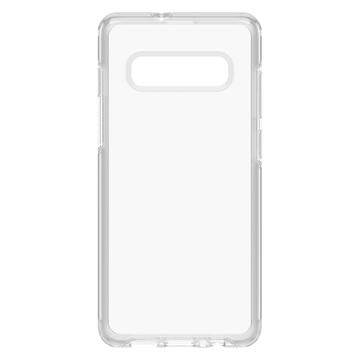 כיסוי Otterbox ל-Galaxy S10 Plus דגם Symmetry (שקוף)