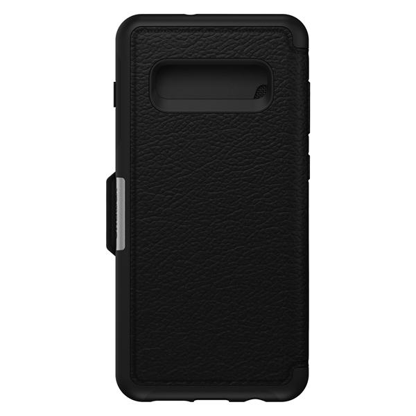 כיסוי Otterbox ל-Galaxy S10 Plus דגם Strada (שחור)